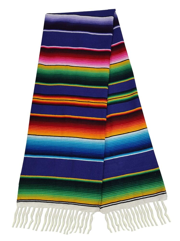 Mexican Blanket Pattern #203 Sarape Style Fals...
