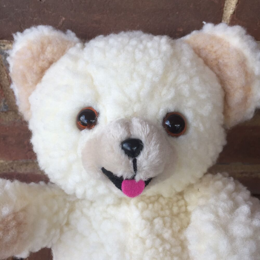 "Snuggle With You: Vintage Snuggle Bear Plush 12"" 1997 Russ Berrie Lever Bros"