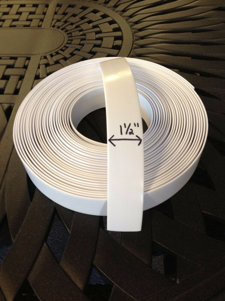 1 5 Quot Vinyl Strapping For Patio Furniture 20 Roll White Ebay