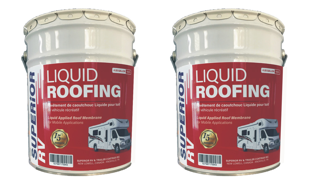 Rv Liquid Rubber Motorhome Roof Sealant Amp Coating 8