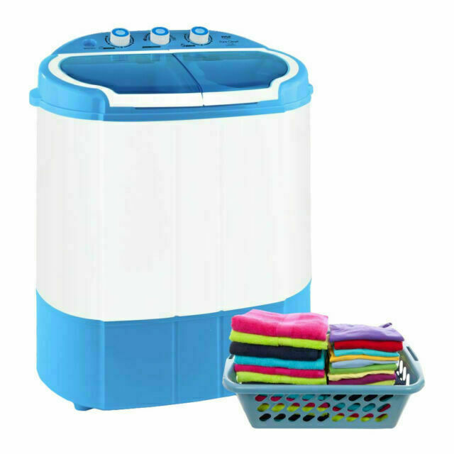 Electric Portable Washer Amp Spin Dryer Mini Washing Machine