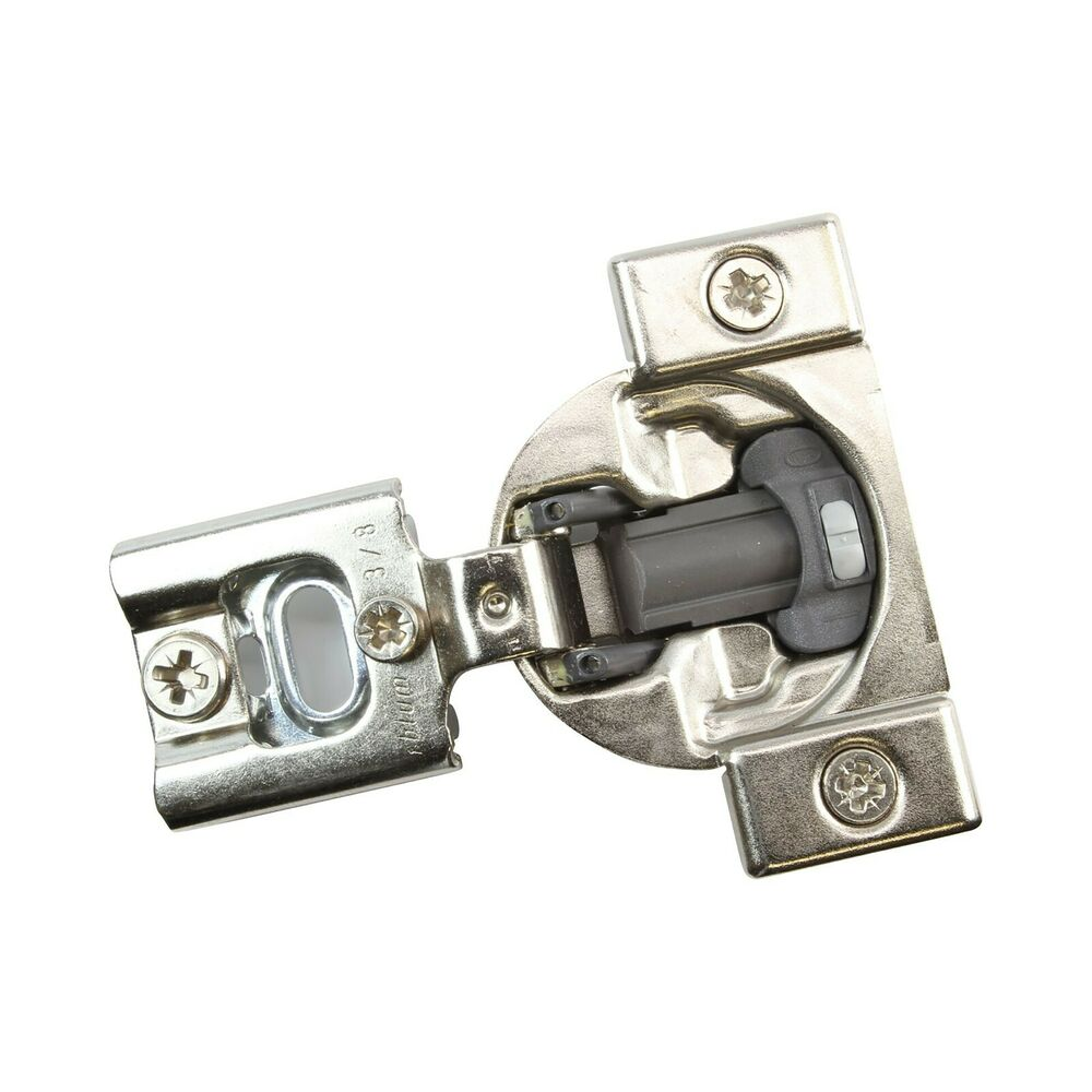 10 pack blum 105 deg 3 8 overlay press in soft close for Blum soft close hinges for kitchen cabinets