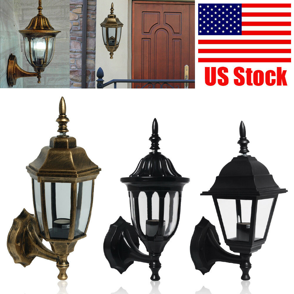 Flush mount led wall lamp porch walkway living room light fixture wall sconce ebay for Wall mounted light fixtures living room