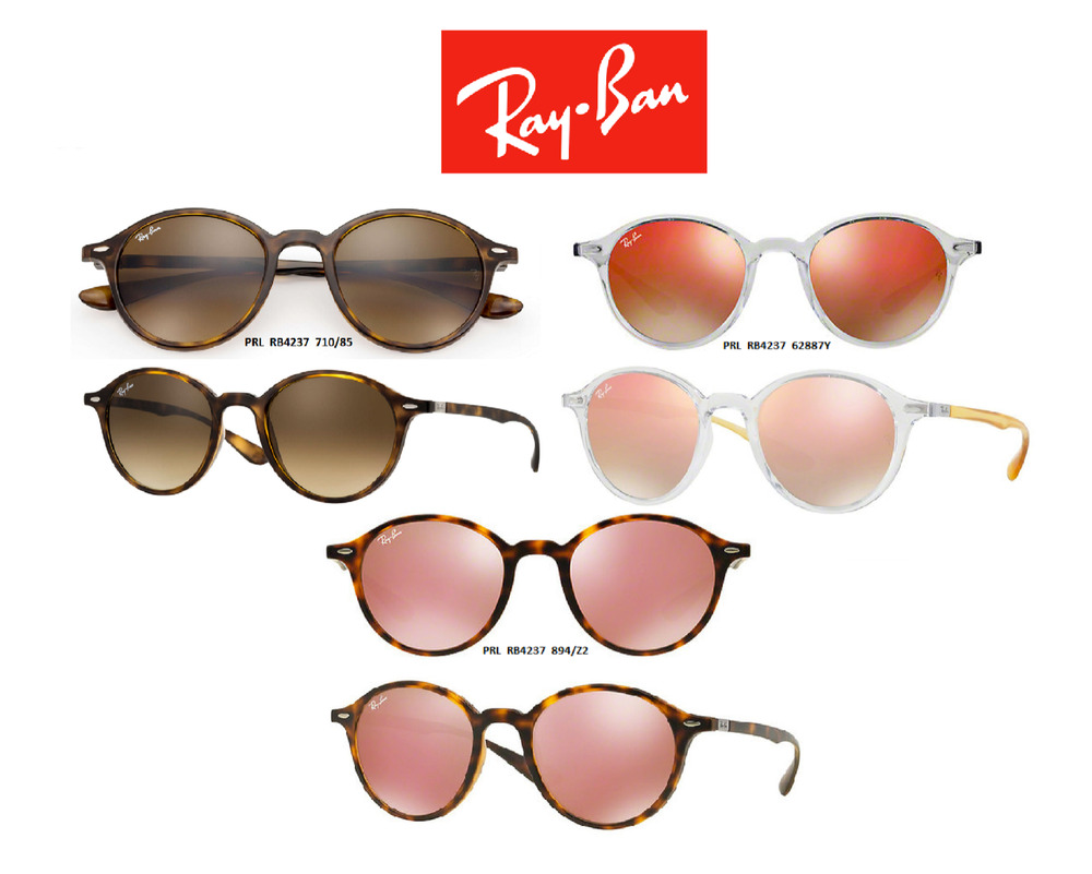 6734c4d247 Ray-Ban Sunglasses RB4237 Round Liteforce Series (Multiple Colors  Available) New