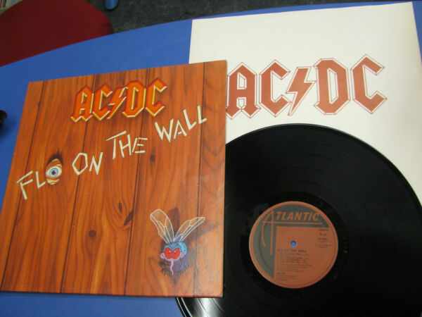 Lp AC/DC Fly On The Wall Atlantic 1985 Made in Italy 78 1263-1