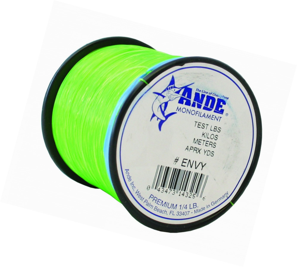 Ande premium monofilament line with 80 pound test ebay for Fishing line test