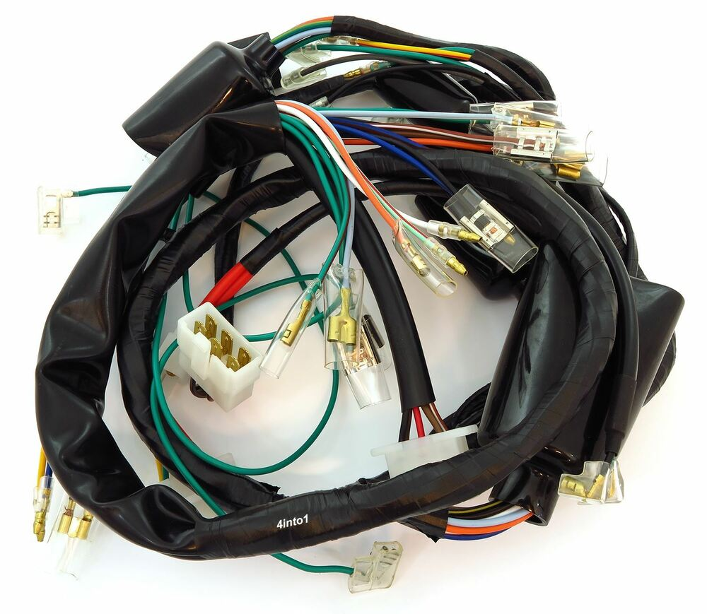 main wiring harness 32100 377 030 honda cb400f 1975. Black Bedroom Furniture Sets. Home Design Ideas
