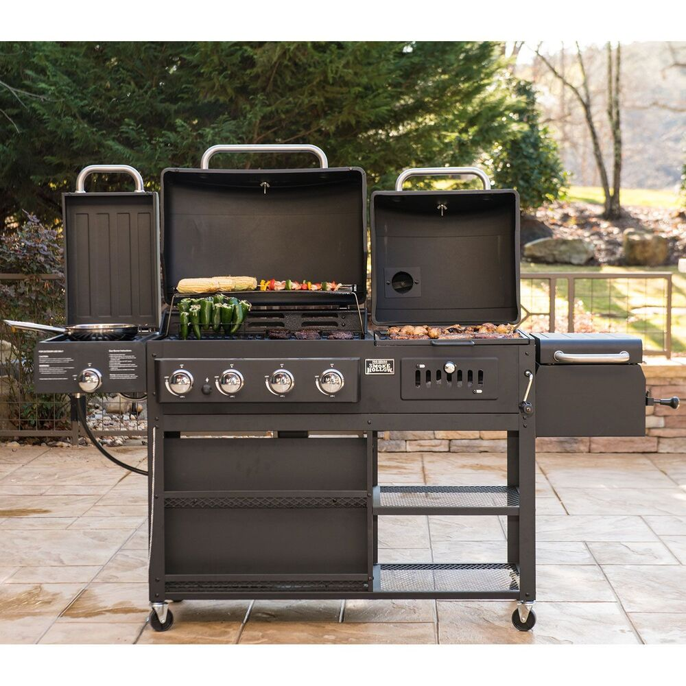 infrared gas charcoal grill combo commercial bbq set for outdoor on clearance 715939571025 ebay. Black Bedroom Furniture Sets. Home Design Ideas