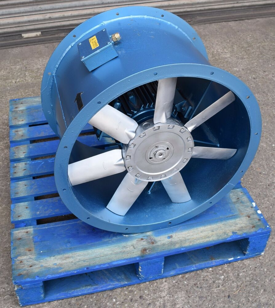 Paint Booth Axial Exhaust Fans : Spray booth fan kw industrial extractor axial