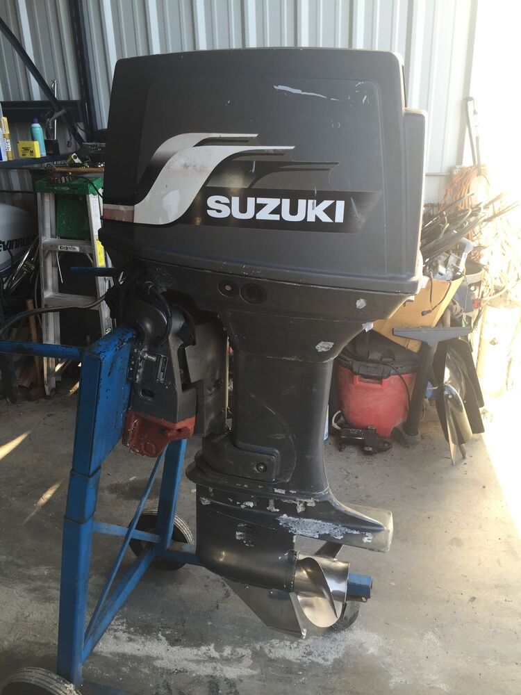1999 Suzuki 85 Hp Dt85 2 Stroke Outboard Boat Motor Engine 20 For Parts Repair Ebay