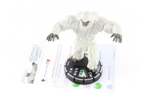 Heroclix Marvel Abominable Snowman WK-005 Heroclix Winter Monthly OP