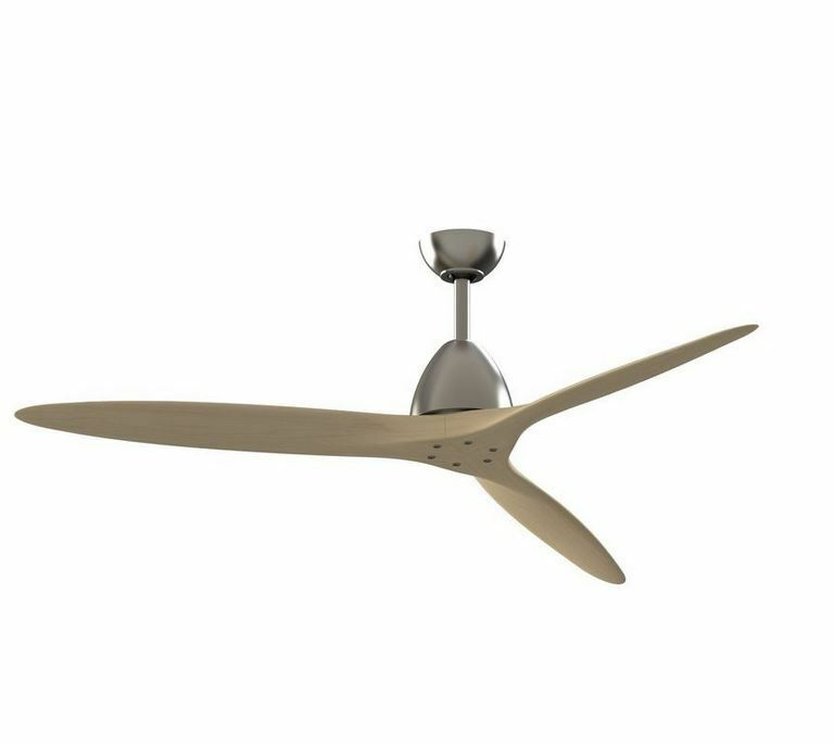 Propeller Blade Ceiling Fans : Indoor airplane wooden propeller ceiling fan w remote