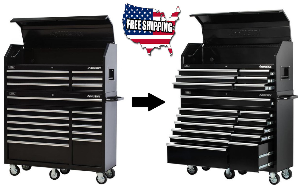 "Mechanics 8 Drawer Tool Box Chest Roller Cabinet: 52"" 18 Drawer Rolling Tool Chest Box Cabinet Garage"