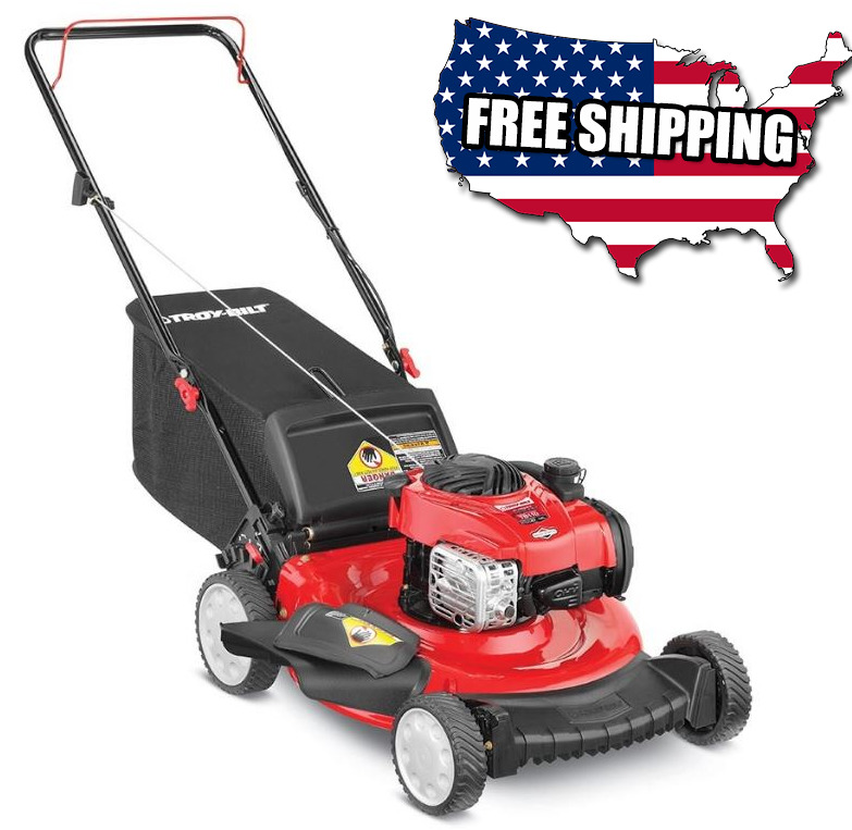 troy bilt mower troy bilt 21 quot 140cc self you push gas propelled blade yard 29179