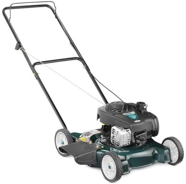 125cc 20 Quot Self Push Walk Behind Gas Propelled Blade Lawn