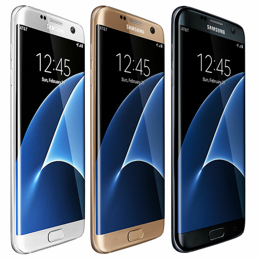 samsung galaxy s7 edge g935v 32gb 4g lte factory unlocked gsm smartphoneen9 ebay. Black Bedroom Furniture Sets. Home Design Ideas