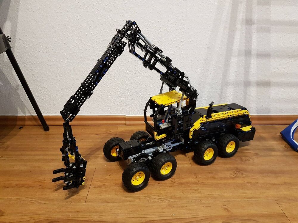 bauanleitung instruction scorpion king harvester unikat moc eig aus lego technic ebay. Black Bedroom Furniture Sets. Home Design Ideas