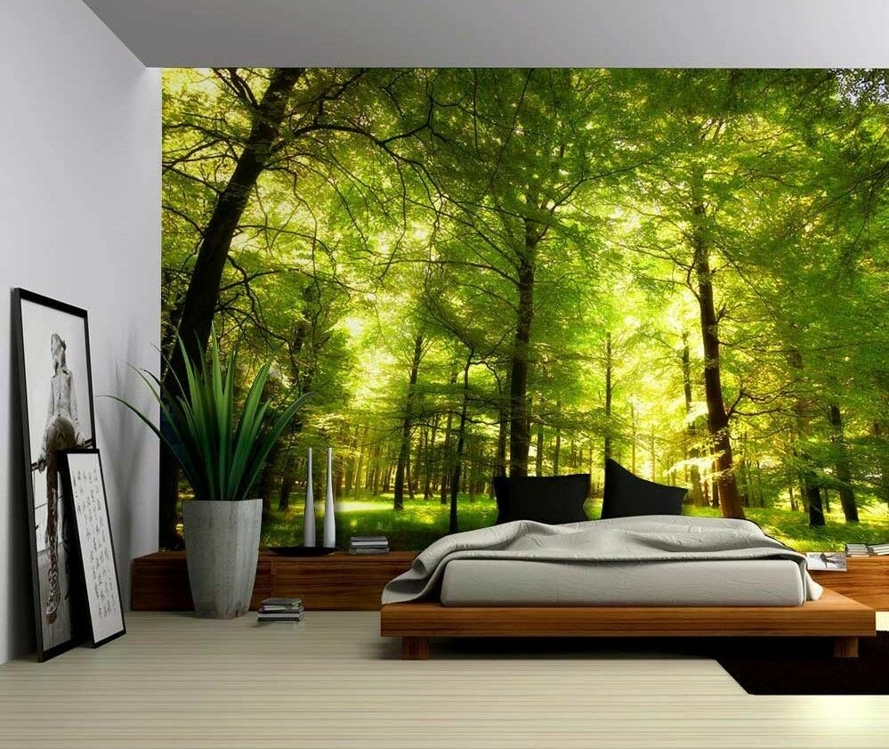 Home Decor Art Tree Wall Sticker Removable Mural Decal: Large Wall Mural Removable