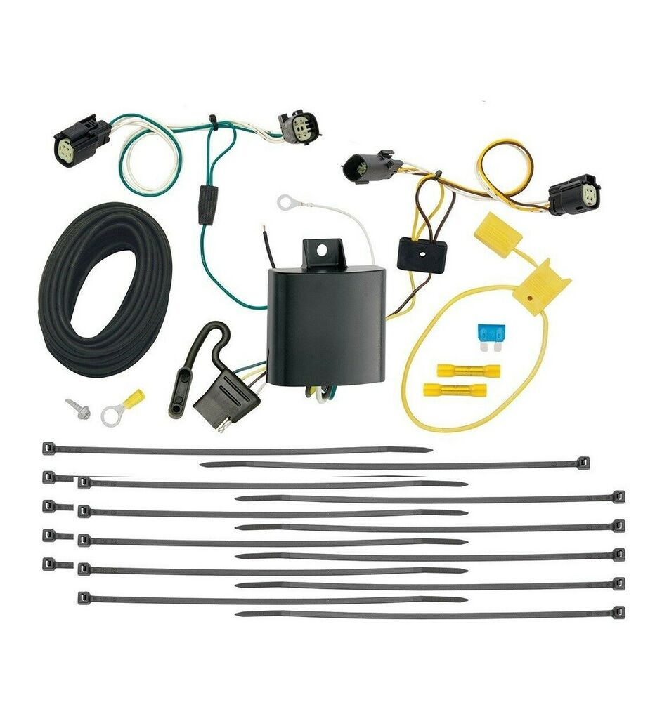 Tekonsha Trailer Tow Wiring For 2017 Chrysler Pacifica