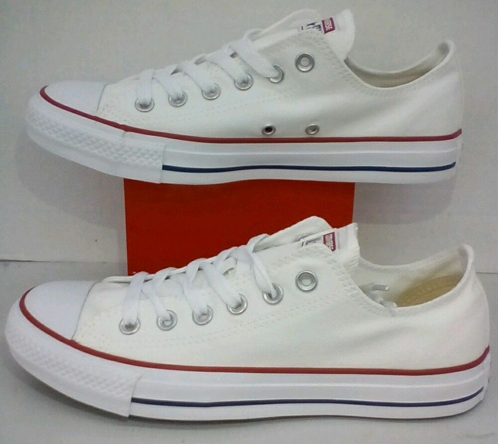 dffd002308f6 Details about Converse All Star Chuck Taylor Low Top Canvas Optical White  M7652 All Size