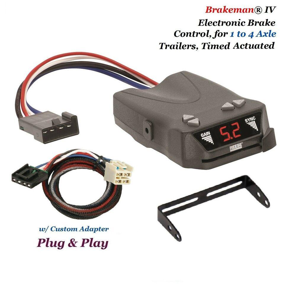 REESE BRAKE CONTROL w/ ADAPTER FOR 2014-2019 CHEVY ...