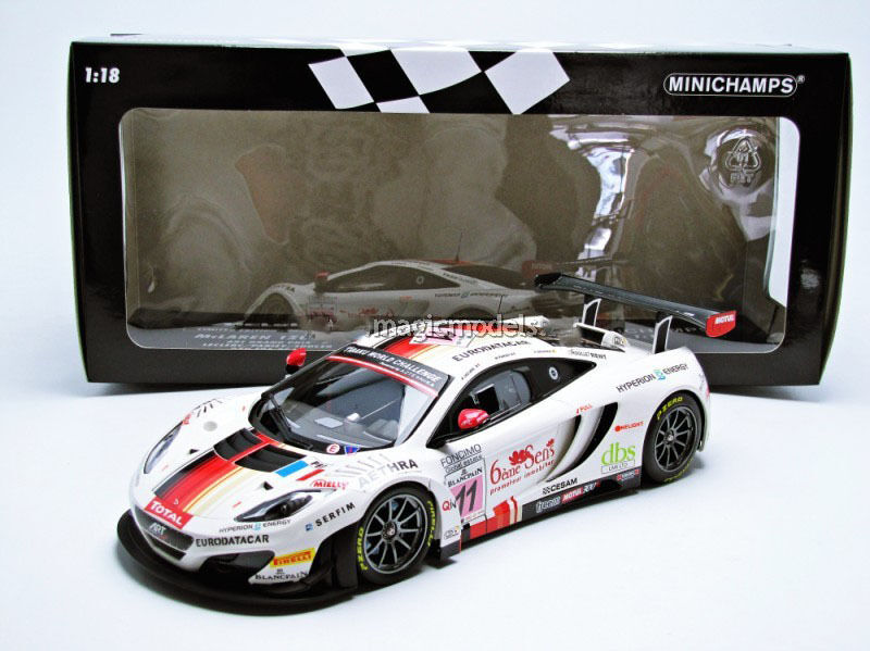 minichamps mclaren mp4 12c gt3 24h de spa 2013 art grand prix 11 1