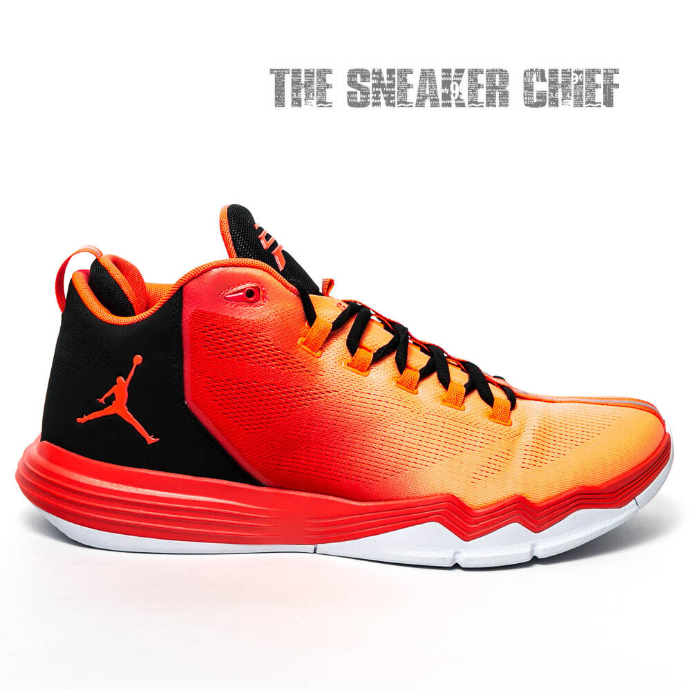 f95ac075e4884e Details about JORDAN CP3.IX AE MENS BASKETBALL SHOES SIZE  9.5 INFRARED 23  BLACK 833909 603