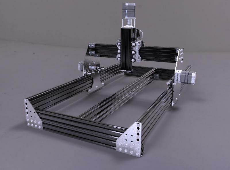 Ox Cnc Router Laser Cutter Gantry Plates Stainless Steel