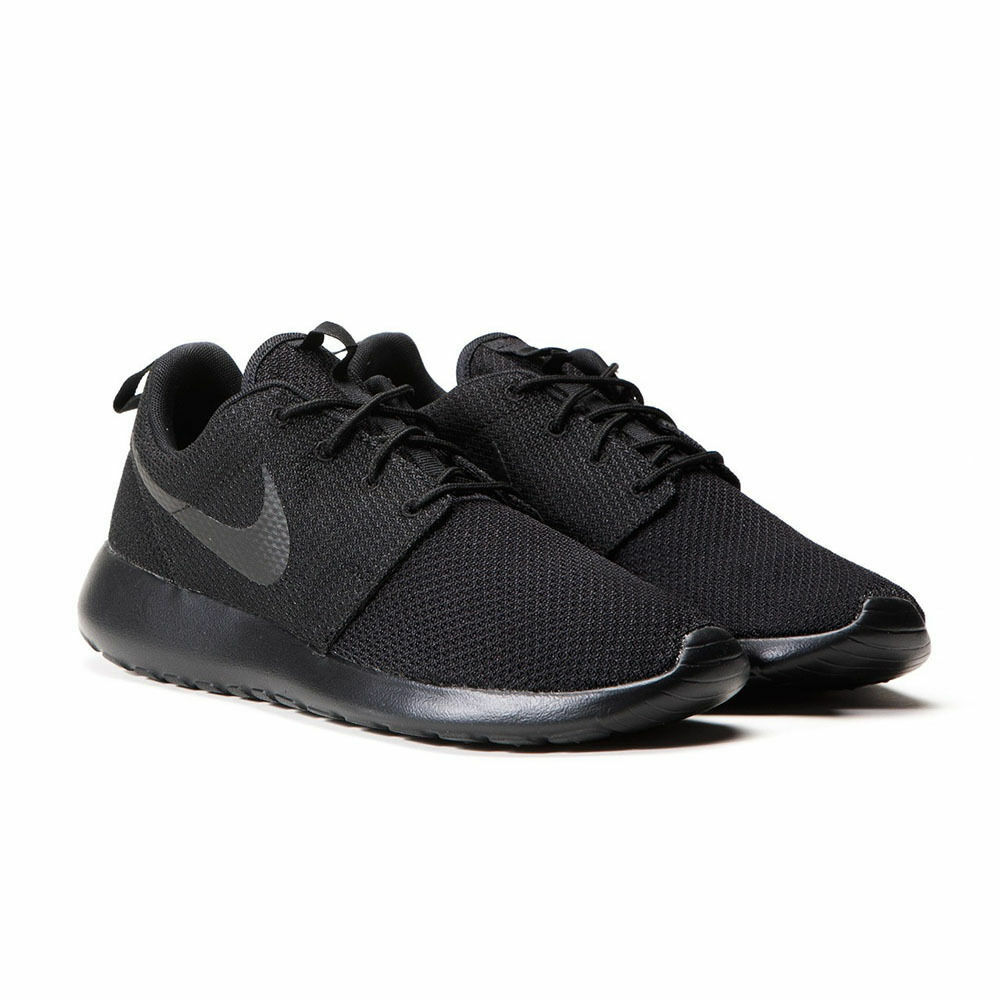 huge discount 54c64 1ecc0 Details about Nike Roshe One Mens Triple Black 511881-026 Fast Shipping