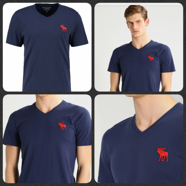ABERCROMBIE & FITCH MEN'S BASIC T SHIRTS
