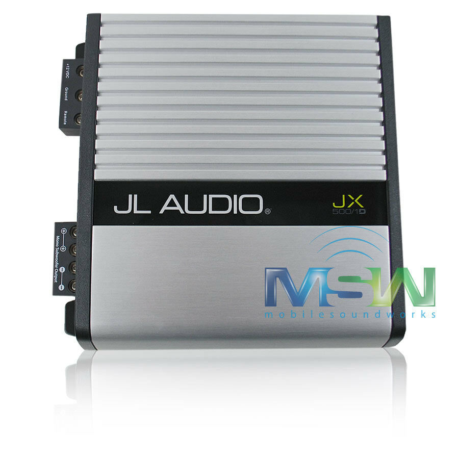 jl audio w6 wiring jl audio 500 1 wiring jl audio® jx500/1d 500w class-d monoblock car amplifier ...