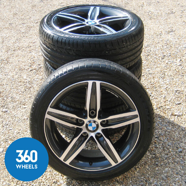 "GENUINE BMW 17"" 1 SERIES M SPORT 379 STAR SPOKE ALLOY"