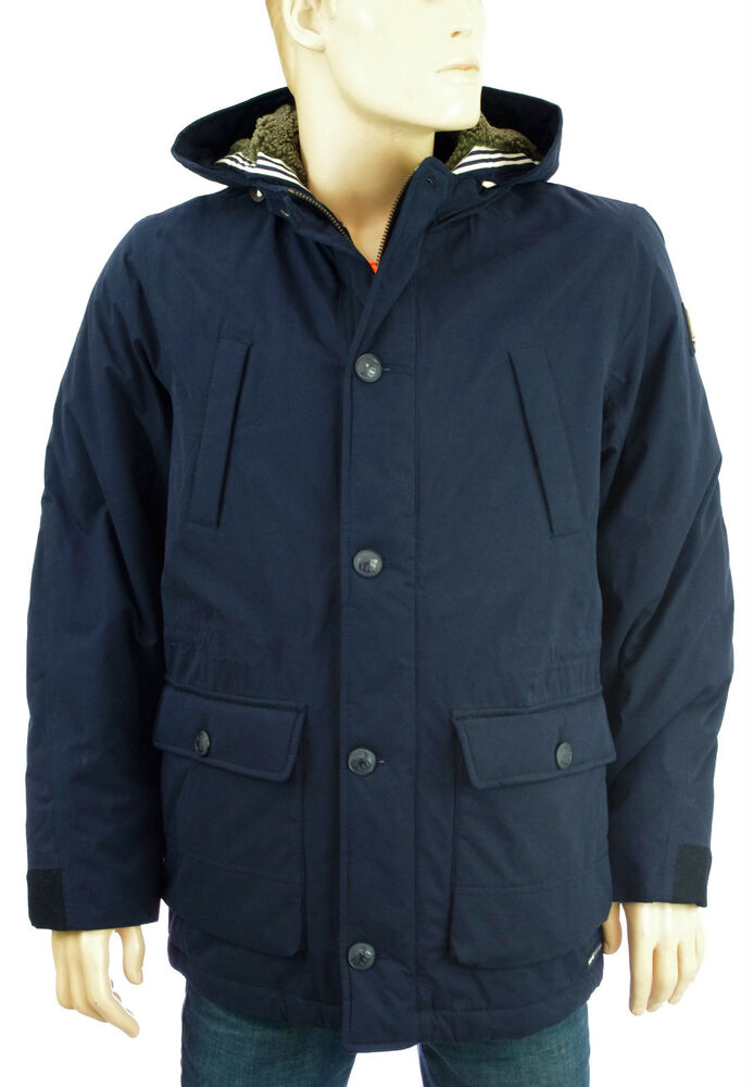 gaastra norwich jacket navy parka homme veste bleu marine. Black Bedroom Furniture Sets. Home Design Ideas