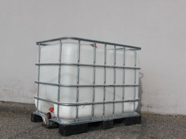 ibc container regentonne regenwassertank wassertank 1000 ltr ebay. Black Bedroom Furniture Sets. Home Design Ideas