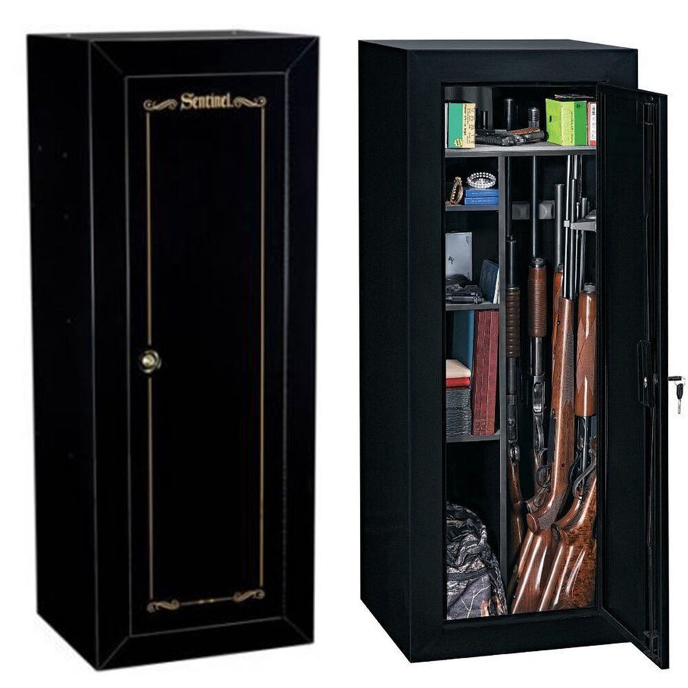 Sentinel Security 18 Gun Cabinet Safe Rifle Shotgun