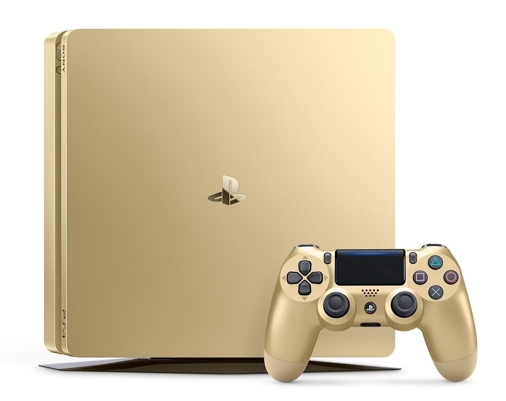 PlayStation 4 Slim 1TB Gold Console 711719510048 | eBay