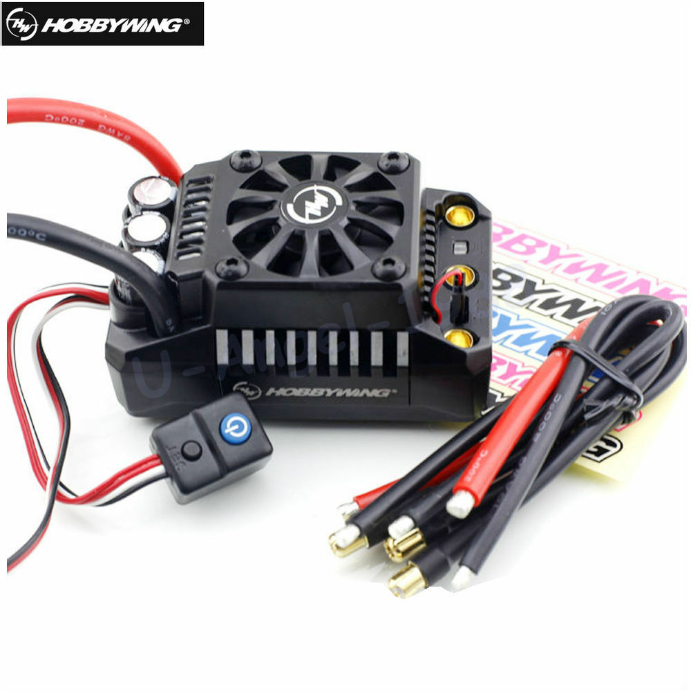 Hobbywing Ezrun 200a Waterproof Brushless Esc 15 Rc Car On Road Turnigy Receiver Controlled Off Switch Gt R C Electronics Max5 V3 7415078221760 Ebay