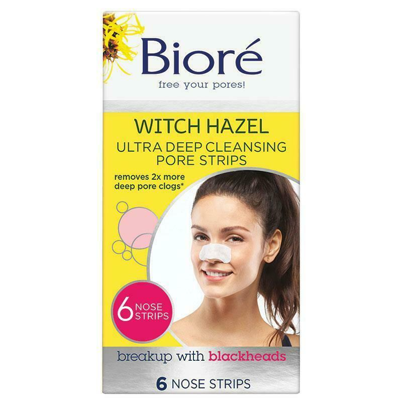 BIORE ULTRA DEEP CLEANSING PORE STRIPS 6PK - NOSE ONLY  | eBay