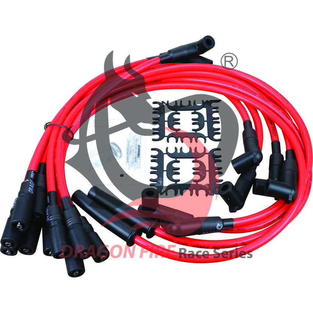 Dragonfire Racing 10.2mm Spark Plug Wire Set For 1992-1997 Chevy GM on