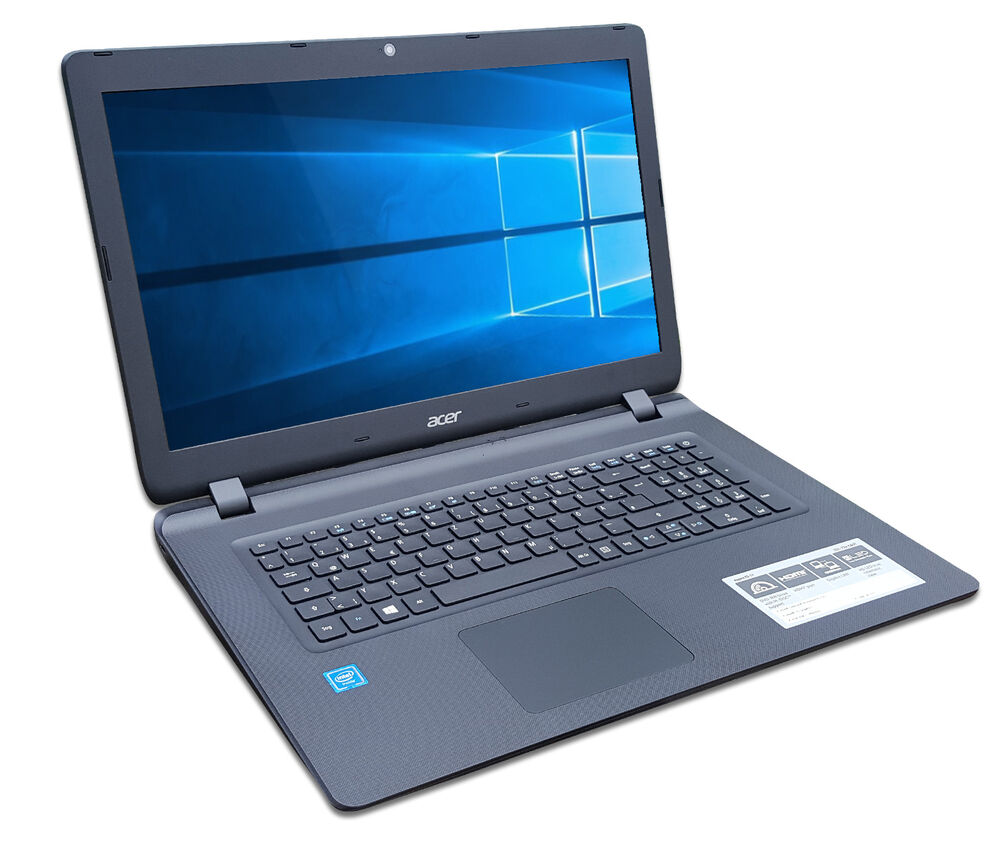acer notebook 17 zoll intel dual core 8gb 256ssd. Black Bedroom Furniture Sets. Home Design Ideas