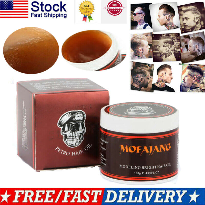 mens hair styling wax mofajang strong hold pomade wax new firme original 9323