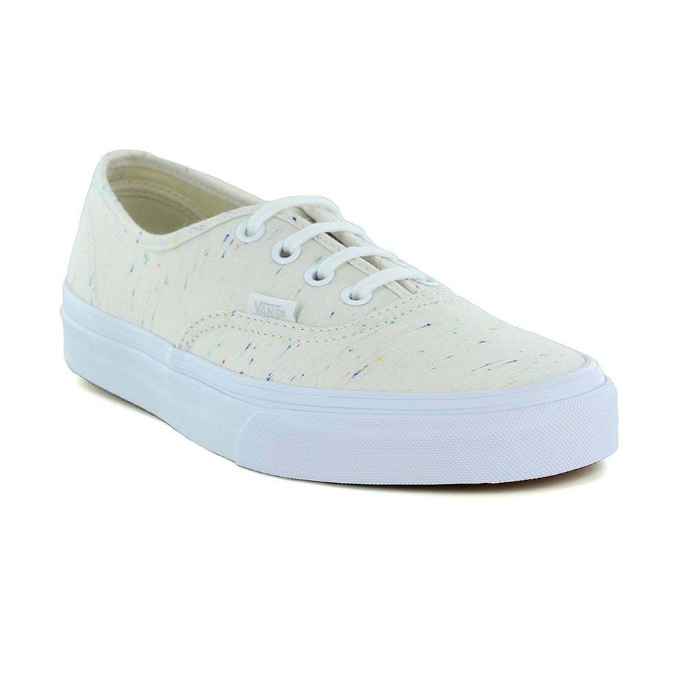 f77cc850ebb9d0 Details about Vans Authentic VN0A38EMMQG Unisex Skate Shoes Cream