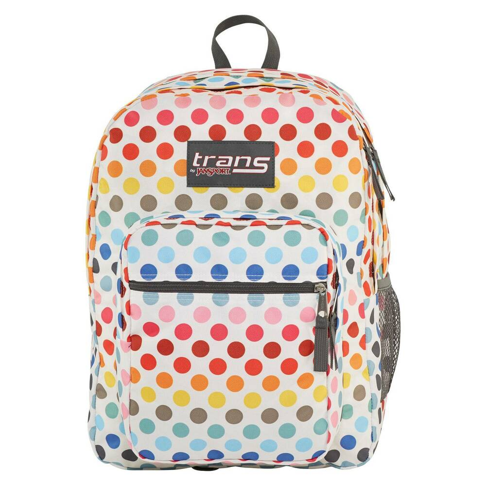 "Trans By JanSport 17"" SuperMax Backpack Rainbow Dot 