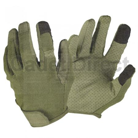 img-Touch Screen Combat Gloves, Olive