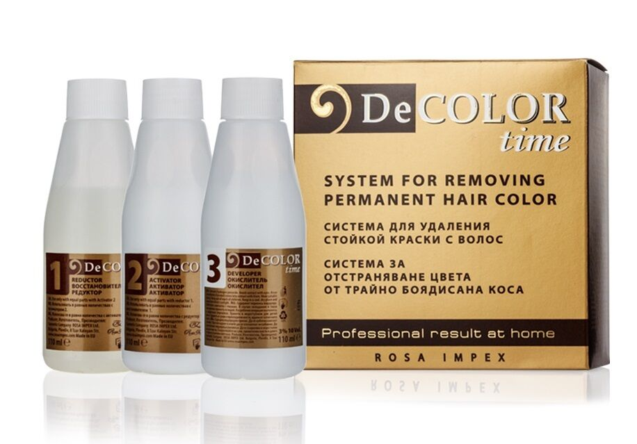 Hair Color Remover Decolor Time No Ammonia Remove Color From Dyed