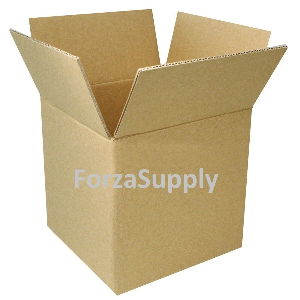 4 Quot Corrugated Cardboard Boxes Shipping Supplies Mailing