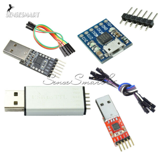 Serial Converter USB2.0 to TTL UART 5/6PIN Module Replace CP2102 STC FT232 Case