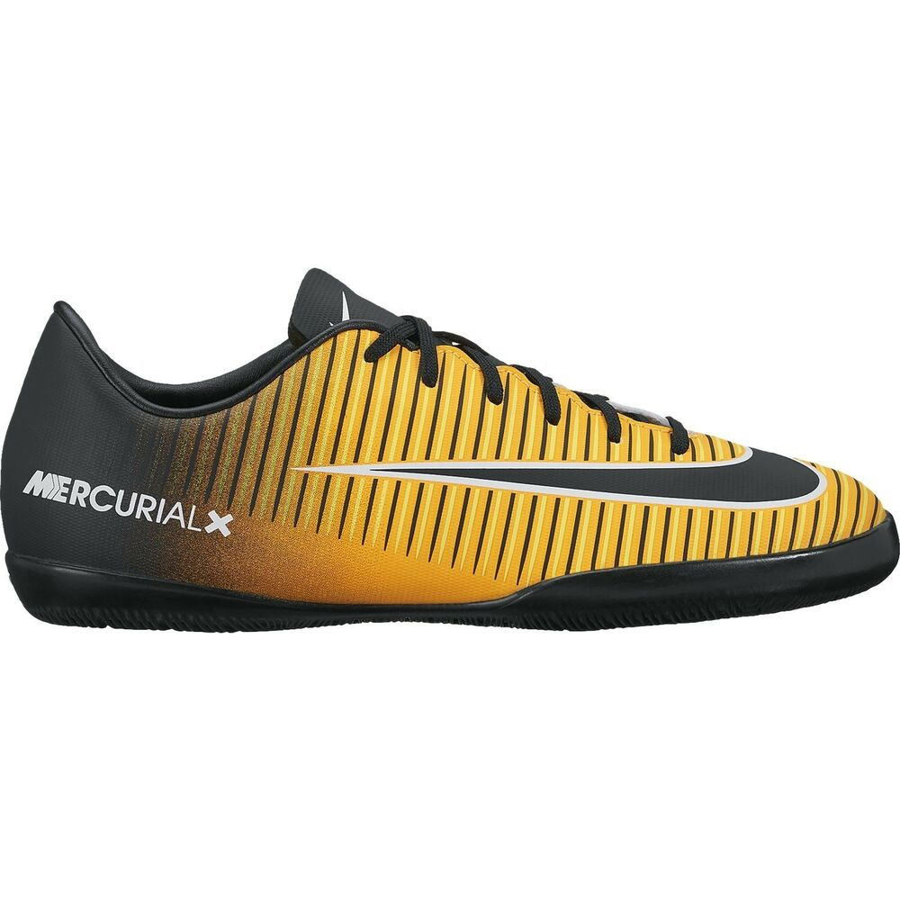 fd571a55e1db Details about Nike Mercurial X Victory XI IC Indoor Soccer SHOES 2017  Orange Black Kids Youth