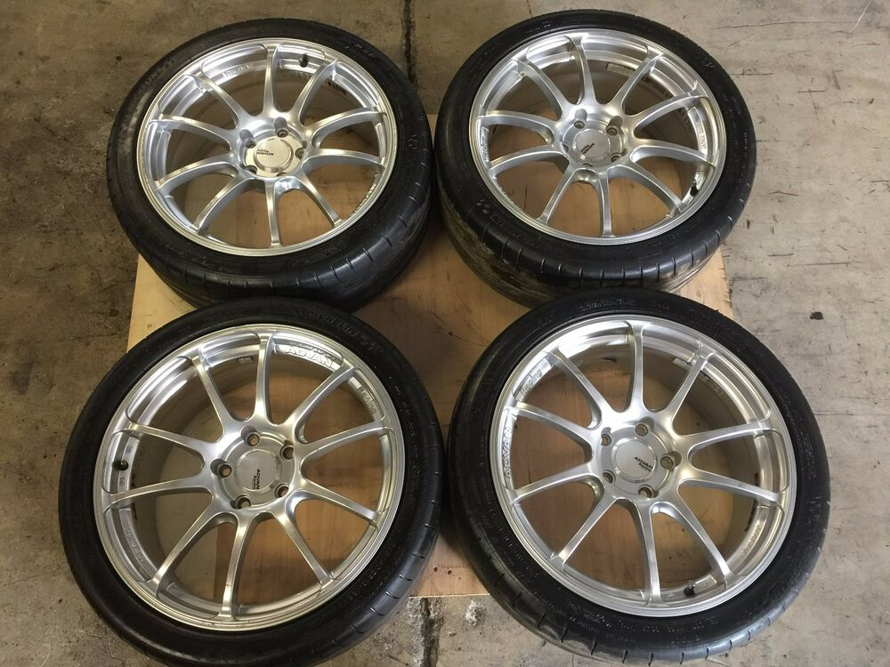 Jdm Subaru Wrx Sti Ver 8 9 Yokohama Advan Racing Wheels 18