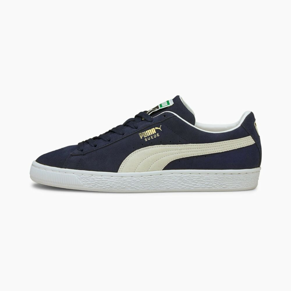 9a780a9ff7 Details about Puma Men s SUEDE CLASSIC+ Shoes NEW AUTHENTIC Navy Peacoat-White  356568 51